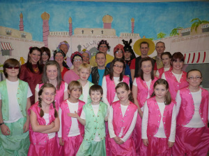 Cast Aladdin