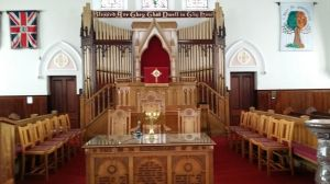Pulpit from Centre