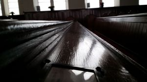 View along Pew