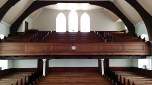 View from Pulpit 2